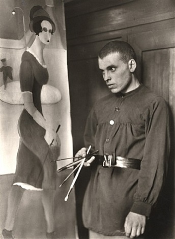 painter [gottfried brockmann] / maler [gottfried brockmann] by august sander